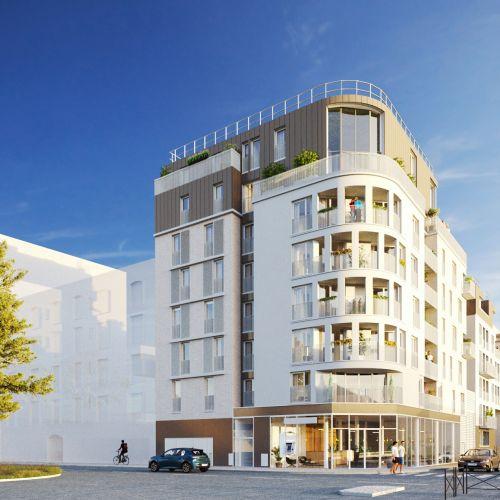 logement neuf extérieur Eclat - Neuilly-Plaisance