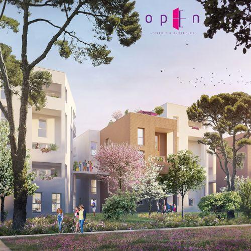 logement neuf extérieur OPEN - Lyon