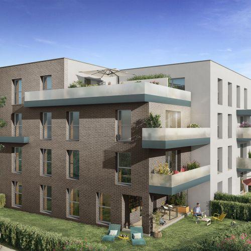 logement neuf extérieur 2 Nouvel'R - SECLIN