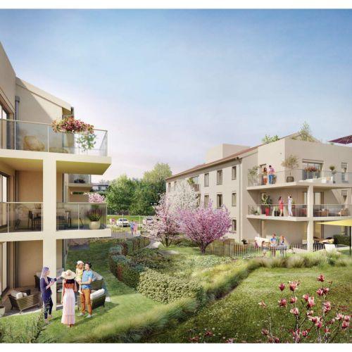 logement neuf extérieur Résidence ô - CHARBONNIERES LES BAINS