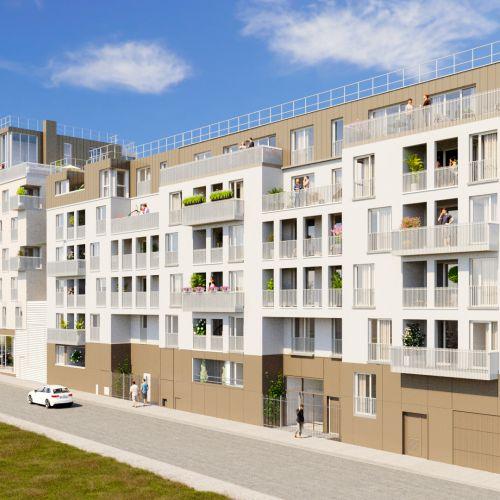 logement neuf extérieur 2 Eclat - Neuilly-Plaisance