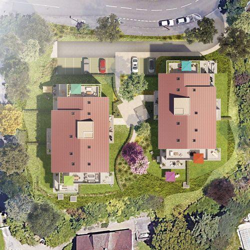 logement neuf plan Résidence ô - CHARBONNIERES LES BAINS
