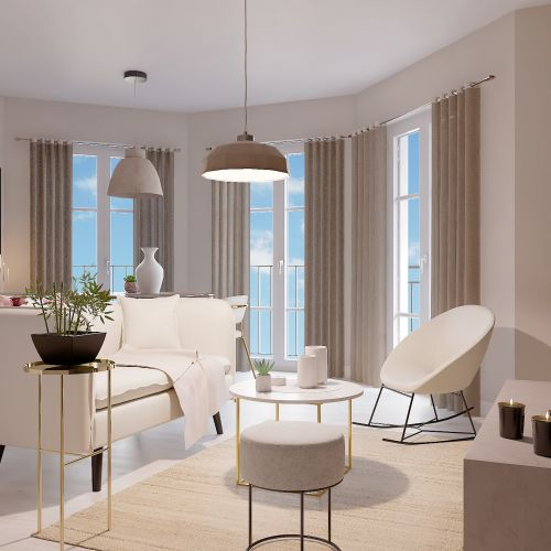 logement neuf intérieur L'ENVOL - LE BLANC MESNIL