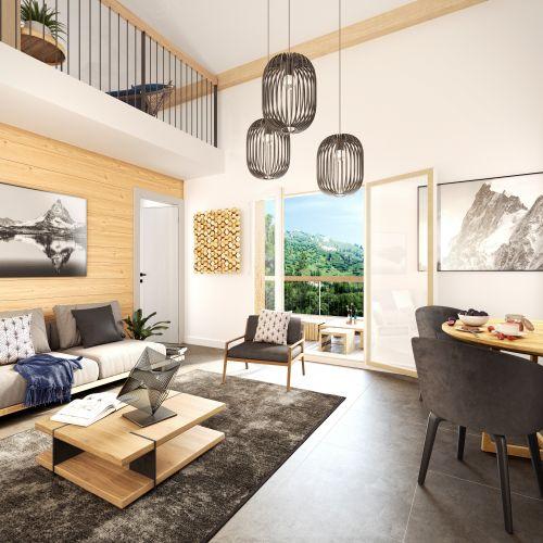 logement neuf intérieur Le 7 - Samoëns - Etelley