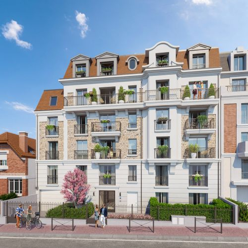 logement neuf extérieur 1 L'ECRIN DU BOIS - CLAMART