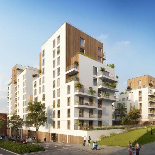 logement neuf extérieur VERTUOSE - ROSNY SOUS BOIS