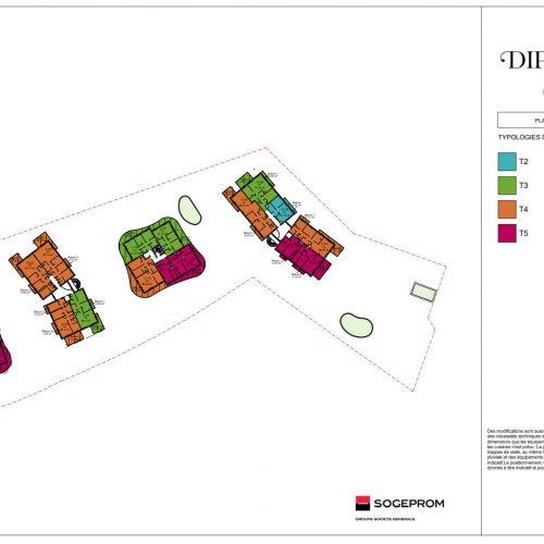 logement neuf plan 3 Diptyque - LE VESINET
