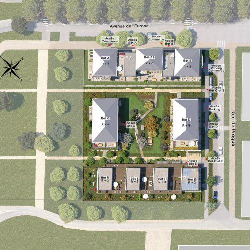 logement neuf plan Oxygène - Chalifert
