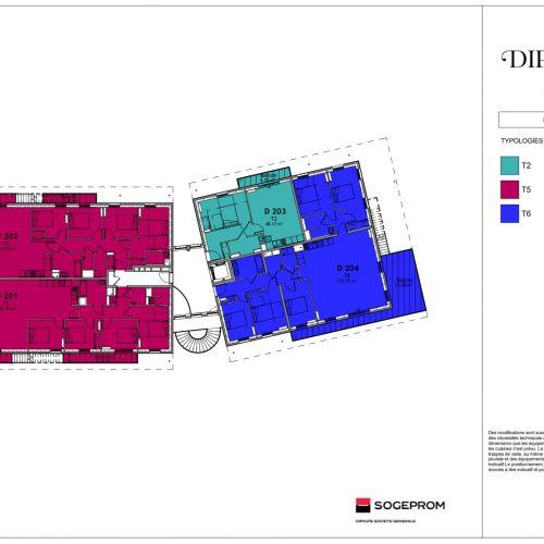 logement neuf plan 24 Diptyque - LE VESINET