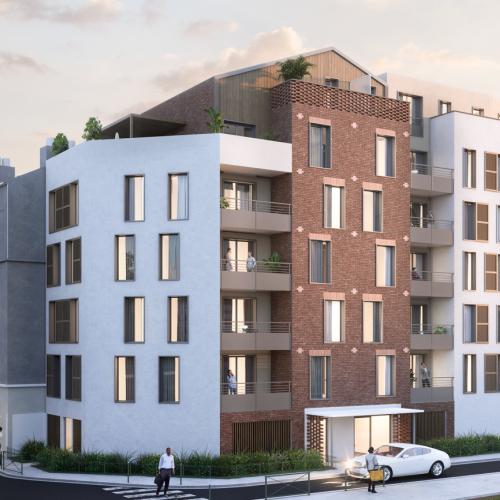 logement neuf extérieur La Fabrique - Juvisy sur Orge