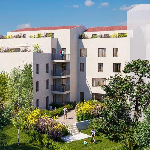 logement neuf extérieur En Aparté - VENISSIEUX