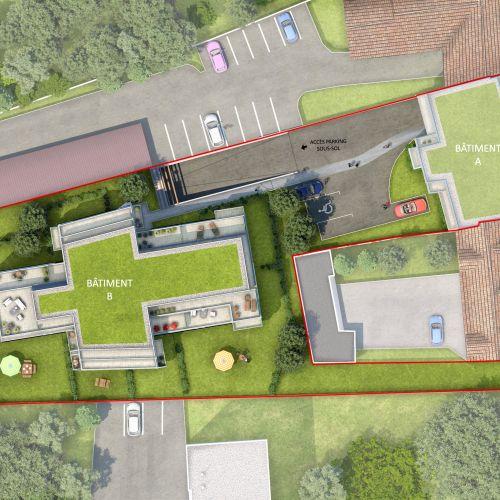 logement neuf plan A'tmosphère - Sainte-Geneviève-des-Bois