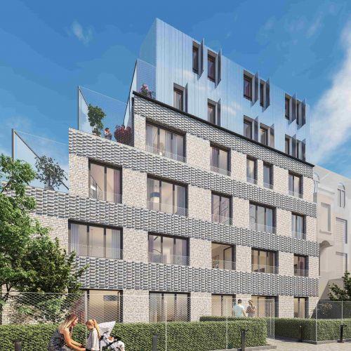 logement neuf extérieur 1 La Cour Ferber - PARIS 20ème