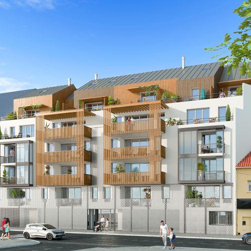 logement neuf extérieur Les Jardins Suspendus- Bezons