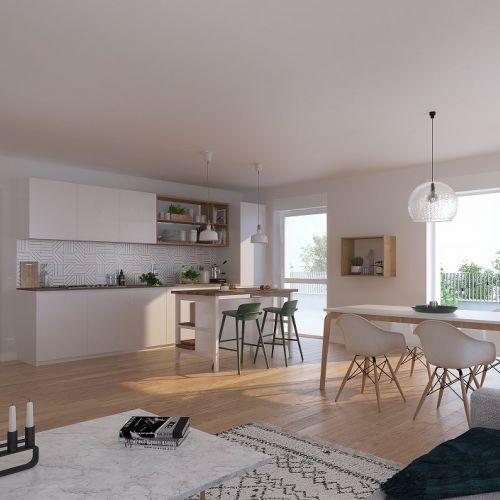 logement neuf intérieur L'Etoffe - VILLENEUVE D ASCQ