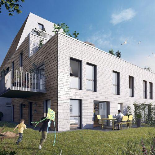 logement neuf extérieur 1 L'Etoffe - VILLENEUVE D ASCQ