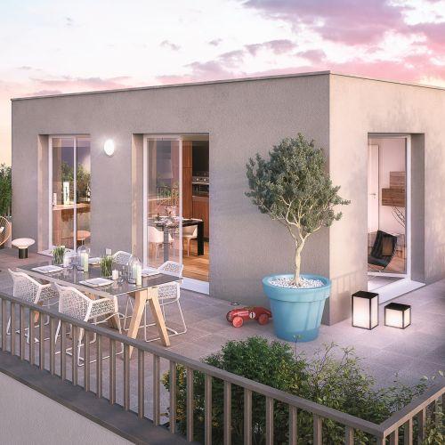 logement neuf extérieur 1 Le clos Lucie - MONS EN BAROEUL