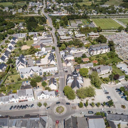 logement neuf plan Domaine du Bois Robin - LA BAULE ESCOUBLAC