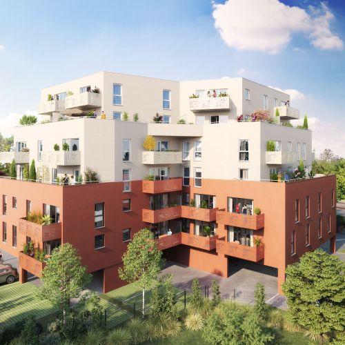 logement neuf extérieur Allure - VALENCIENNES
