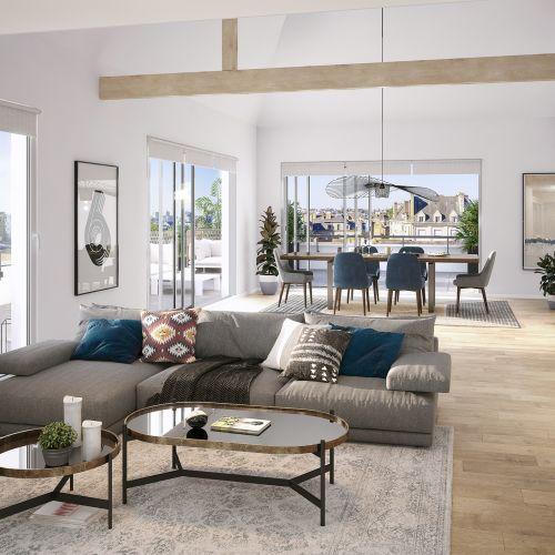 logement neuf intérieur Atelier Cambronne - NANTES