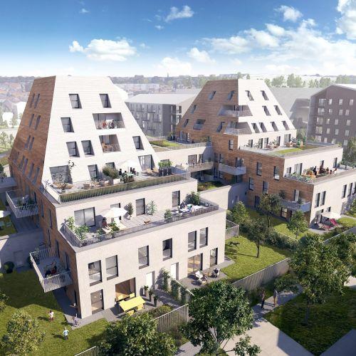 logement neuf extérieur L'Etoffe - VILLENEUVE D ASCQ