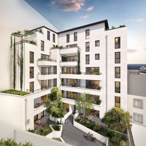 logement neuf extérieur Atelier Cambronne - NANTES
