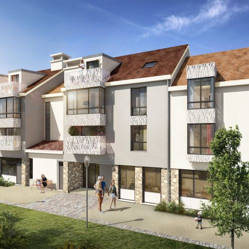 logement neuf extérieur 1 Coeur de ville - ST REMY LES CHEVREUSE