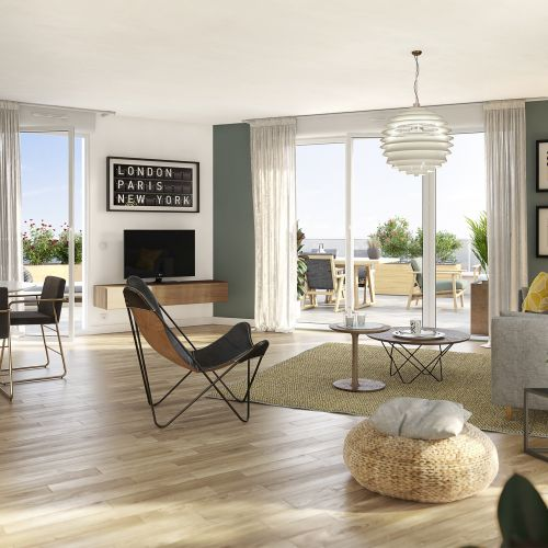 logement neuf intérieur Allure - VALENCIENNES