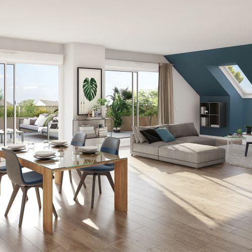 logement neuf intérieur Eloge - SAUTRON