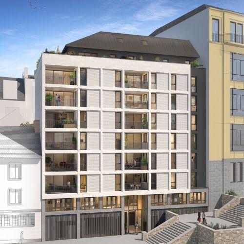 logement neuf extérieur 1 Atelier Cambronne - NANTES
