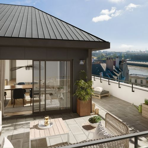 logement neuf extérieur 2 Atelier Cambronne - NANTES