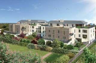 logement neuf extérieur RESIDENCE VILLA SAINT GEORGES - BUSSY ST GEORGES