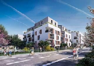 logement neuf extérieur LES GALERIES PERRONCEL - VILLEURBANNE