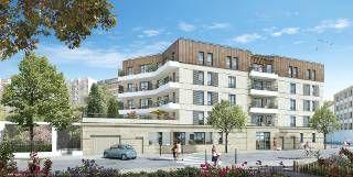 logement neuf extérieur FLEUR DE VILLE - LES LILAS