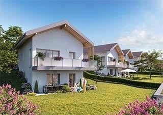logement neuf extérieur OXYGENE - THORENS GLIERES