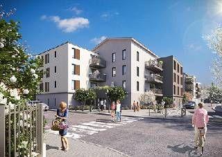 logement neuf extérieur VO'LUPTÉ VILLAGE - VAULX EN VELIN