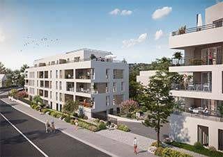 logement neuf extérieur OPALINE - ANNEMASSE