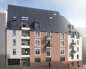 logement neuf extérieur LA RENAISSANCE - ROUEN