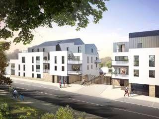 logement neuf extérieur AFFLUENCE - COUERON