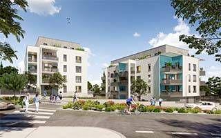 logement neuf extérieur ALFA - Vénissieux