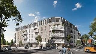 logement neuf extérieur LES JARDINS D'AUNAIS - AULNAY SOUS BOIS