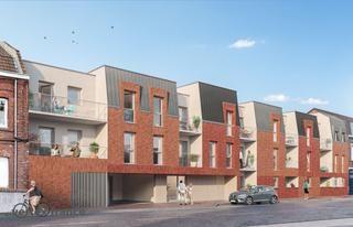 logement neuf extérieur INCANDESCENCE - HAUBOURDIN