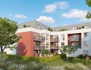 logement neuf extérieur COEUR RUBIS - PONTAULT COMBAULT