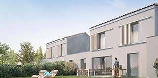 logement neuf extérieur GRANDEUR NATURE - ST LAURENT DE MURE