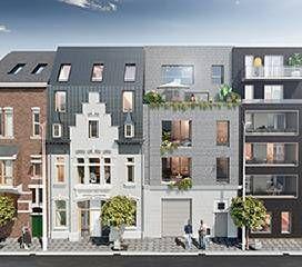 logement neuf extérieur LES VILLAS DE LA VISSERIE - LILLE