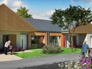 logement neuf extérieur LA PROMENADE DES MOULINS - Meung-sur-Loire