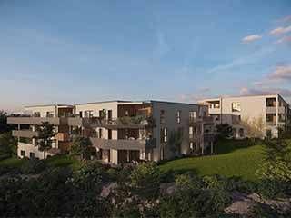 logement neuf extérieur VUE CITADELLE - BESANCON