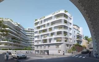 logement neuf extérieur SONATINA - ISSY LES MOULINEAUX