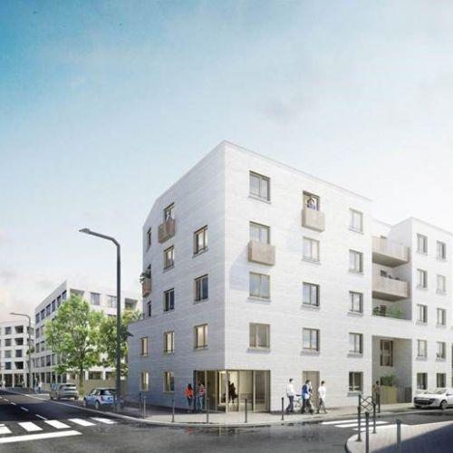 logement neuf extérieur Green Square - LILLE