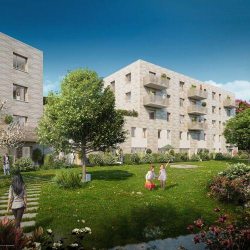 logement neuf extérieur 1 Green Square - LILLE